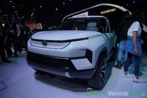 Tata Sierra EV Concept front three quarter view - Auto Expo 2020