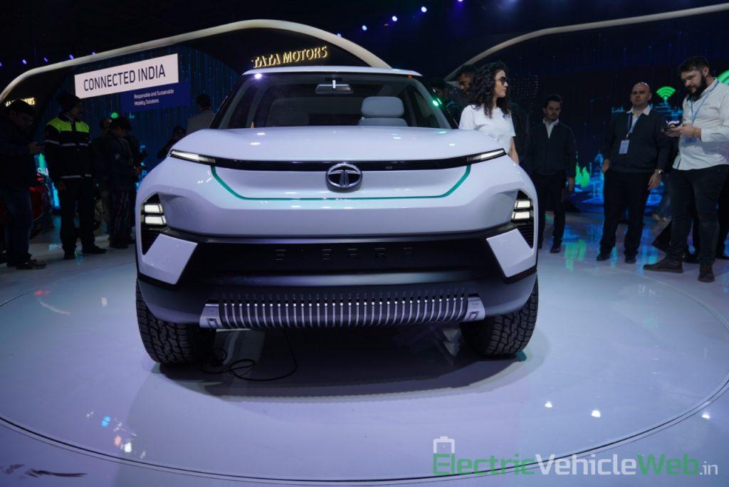 Tata Sierra EV Concept front view - Auto Expo 2020