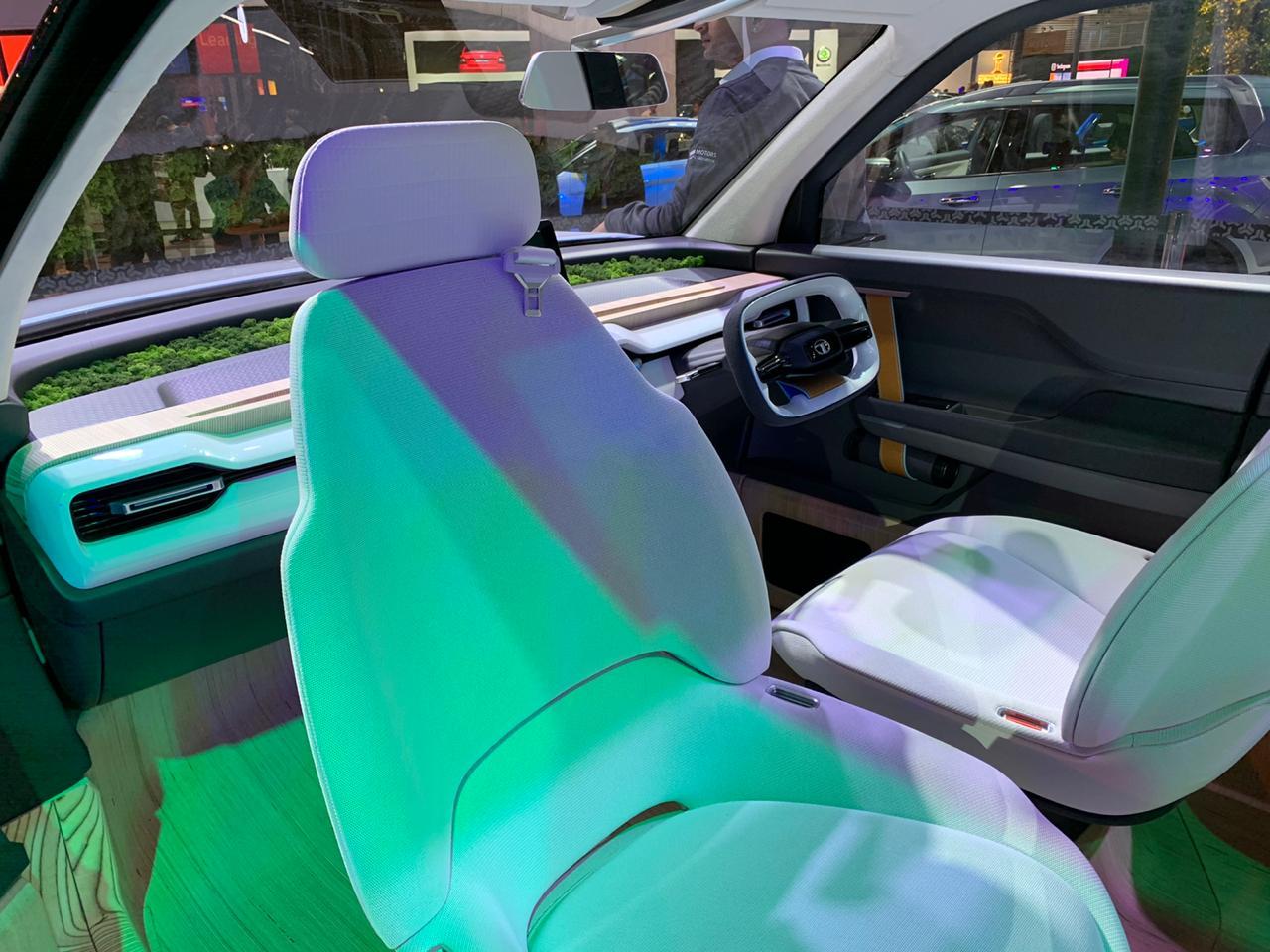 Tata Sierra EV Concept interiors - Auto Expo 2020 (1)