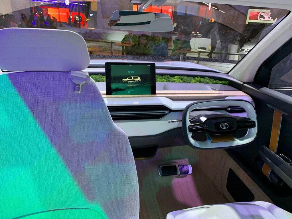 Tata Sierra EV Concept interiors - Auto Expo 2020 (5)