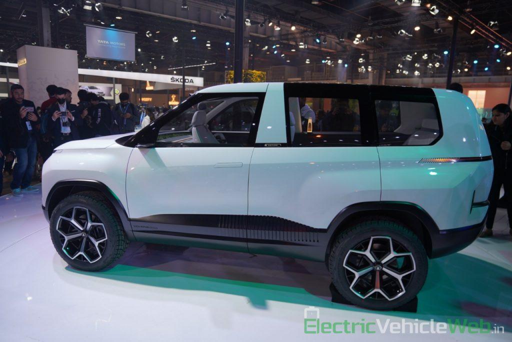 Tata Sierra EV Concept side view 2 - Auto Expo 2020
