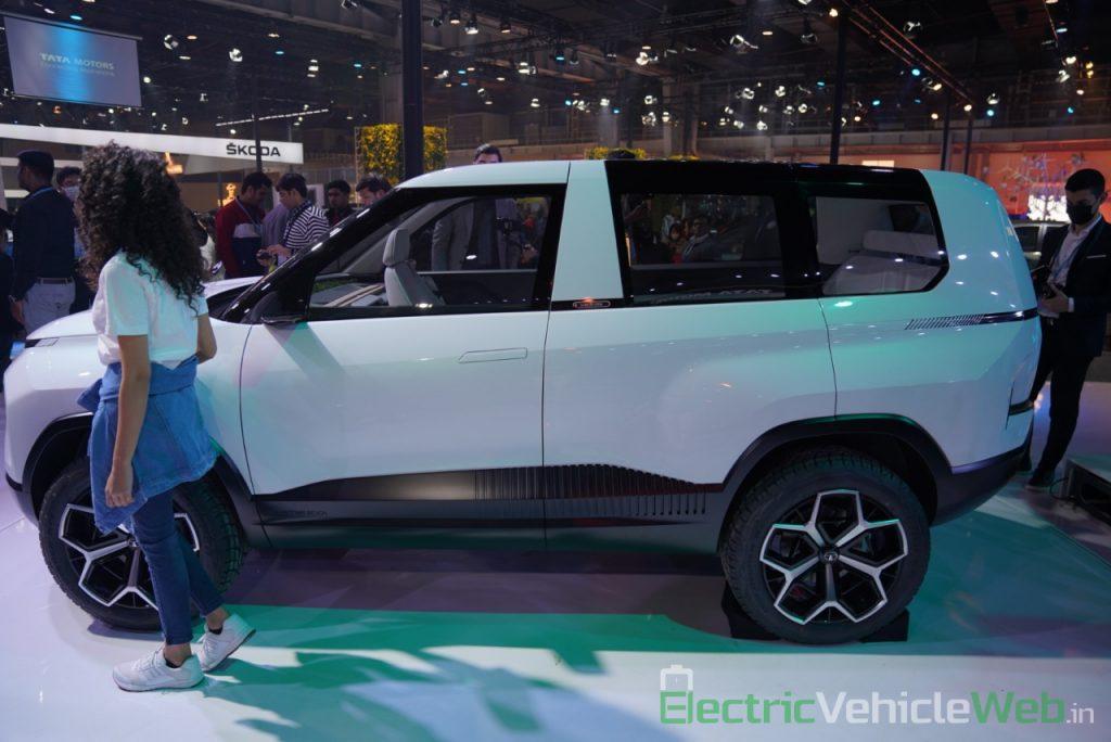 Tata Sierra EV Concept side view - Auto Expo 2020
