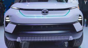 Tata Sierra concept front-end