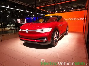 VW ID Crozz at Auto Expo 2020