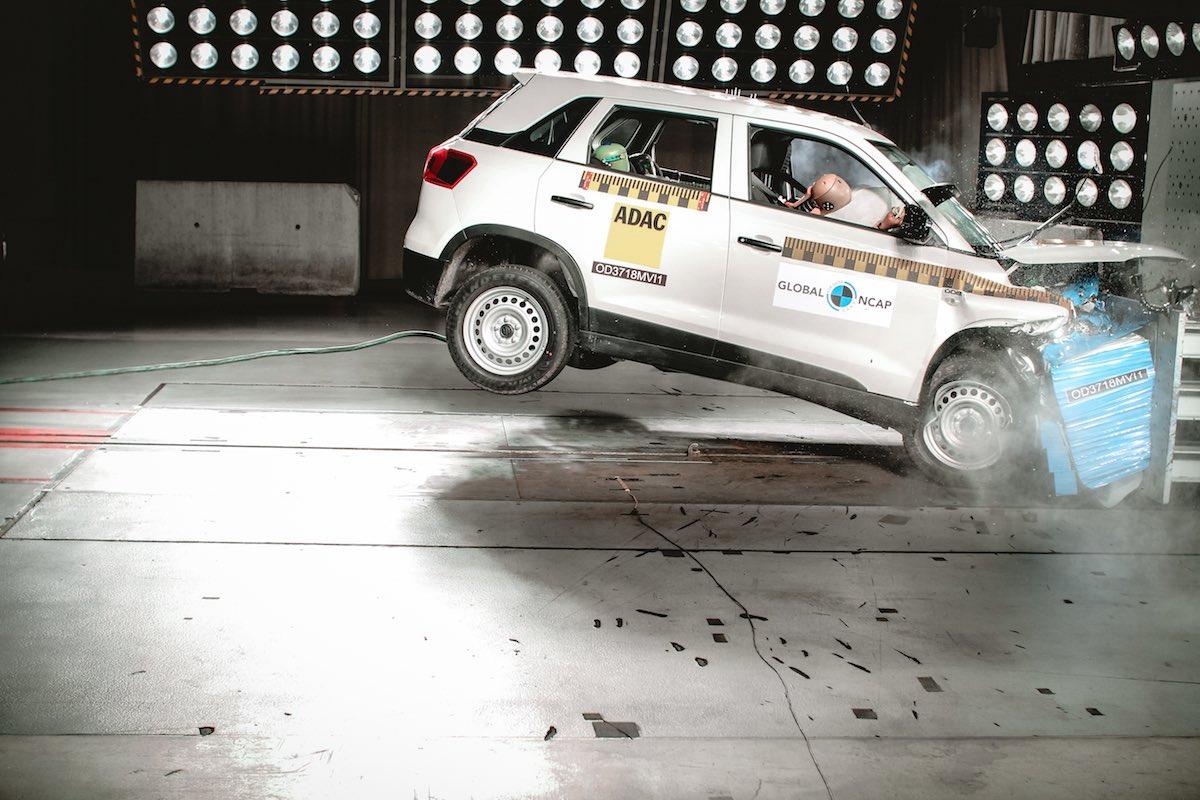 gncap safety rating Maruti Suzuki Vitara Brezza