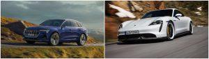 Audi e-tron & Porsche Taycan