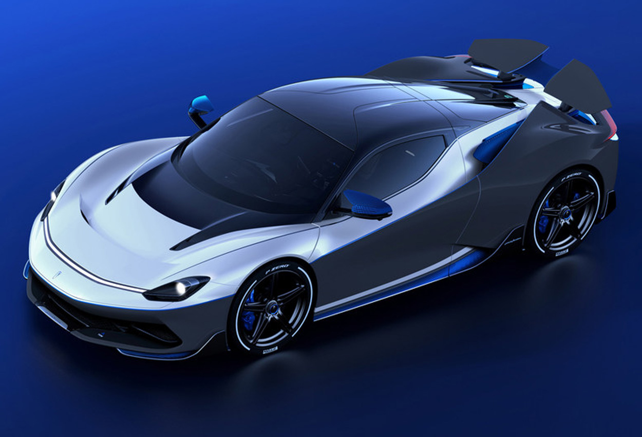 Automobili Pininfarina Battista Anniverario front three quarter view