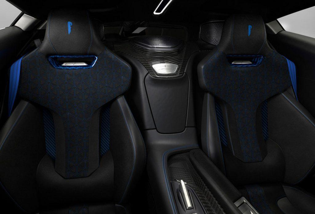 Automobili Pininfarina Battista Anniverario seats