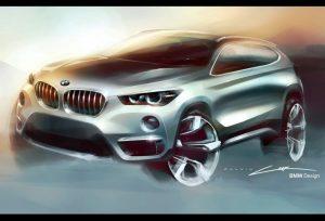 BMW X1 sketch