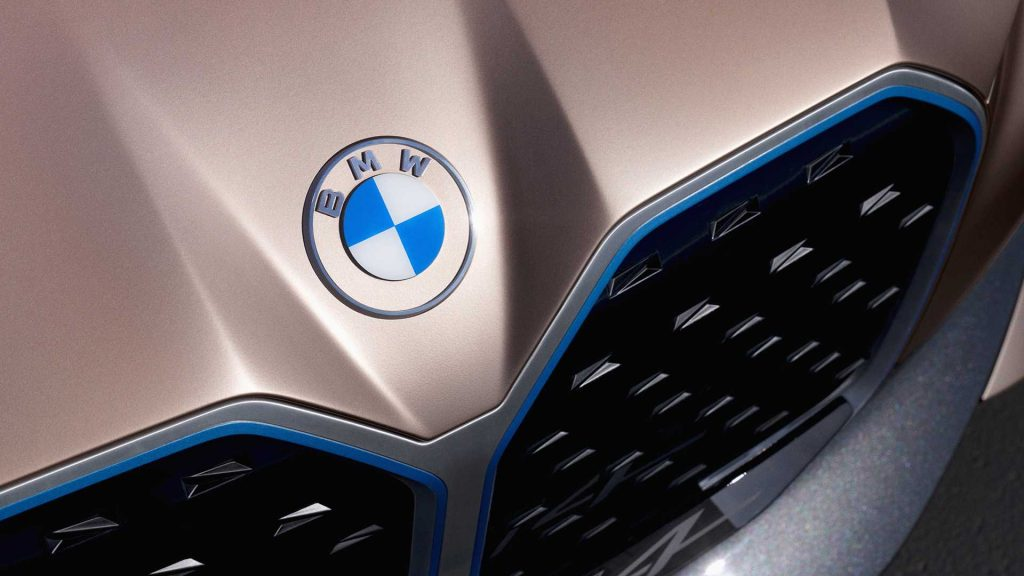 New BMW logo transparent