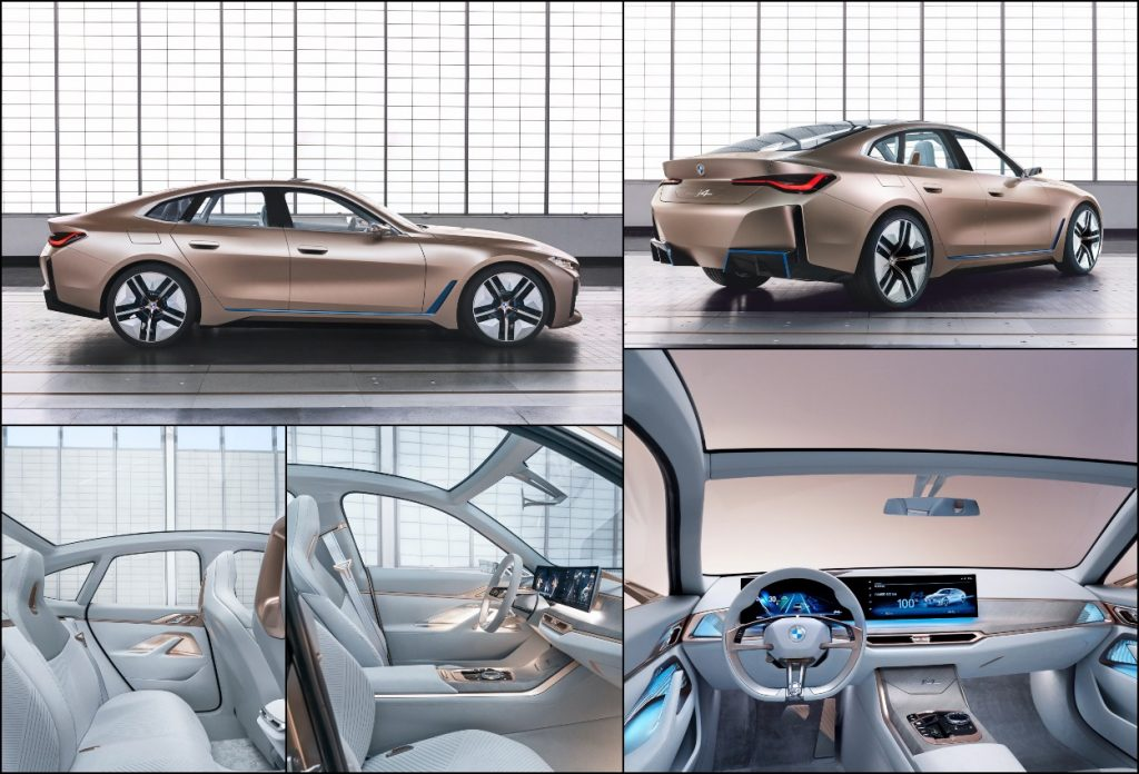 BMW i4 Concept collage
