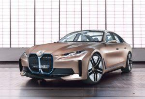 BMW i4 Concept front three quarter view