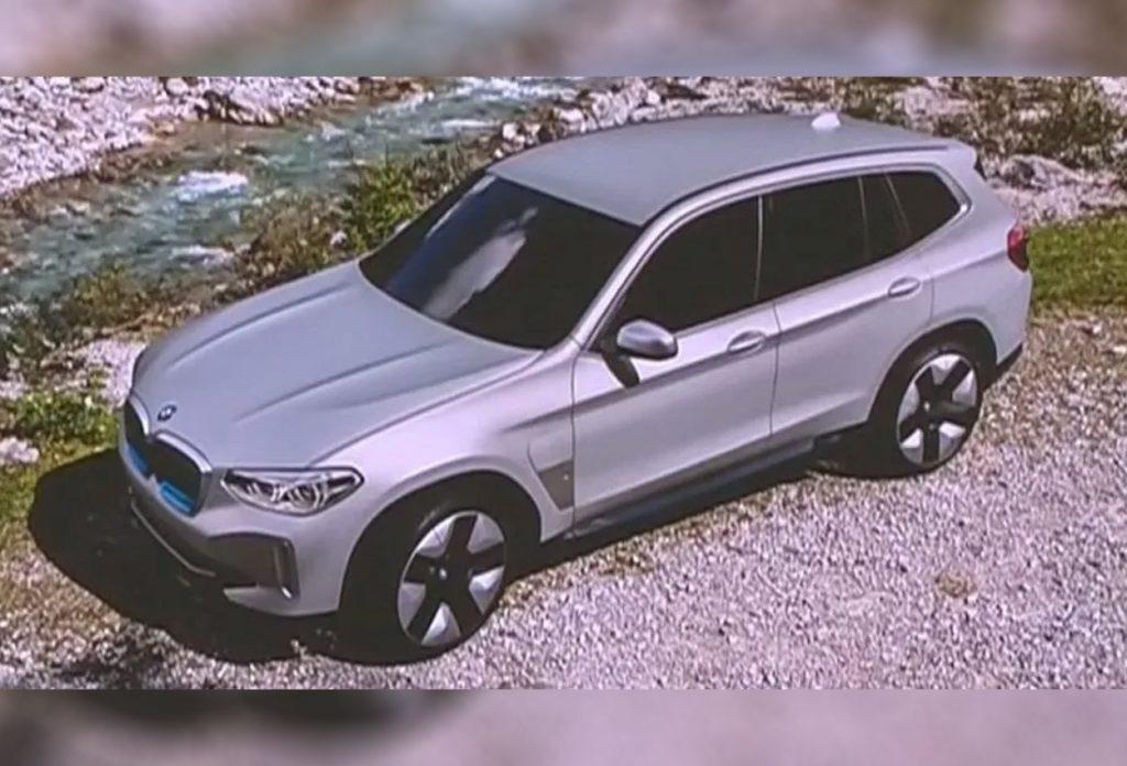 BMW iX3 produciton spec