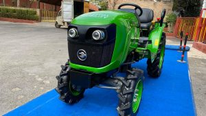 Electric Tractor from Hyderabad-based Cellestial E-Mobility front