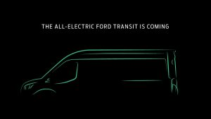Ford Transit electric teased confirmed