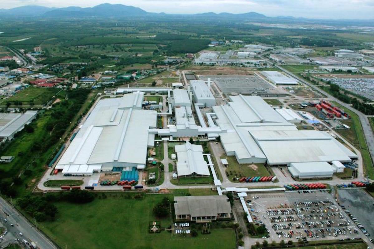 General Motors Thailand plant photo