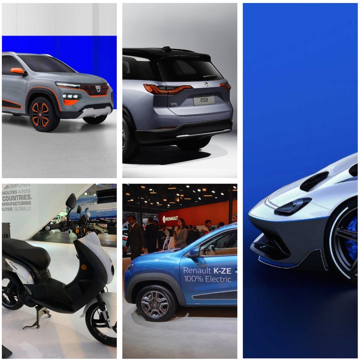 Global electric vehicles with strong Indian connections