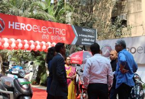 Hero Electric eGalaxy Motors dealership