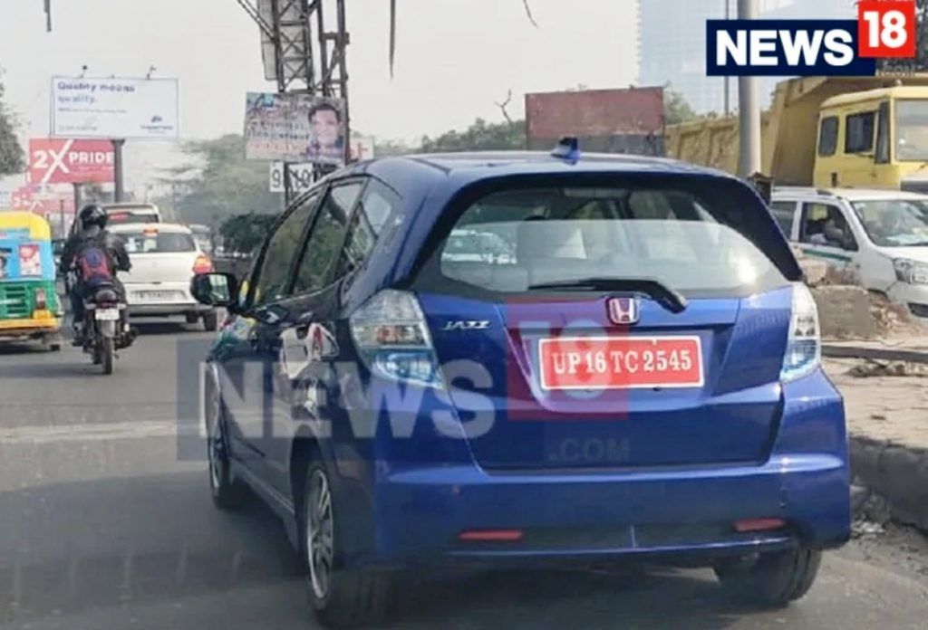 Honda Jazz Electric car