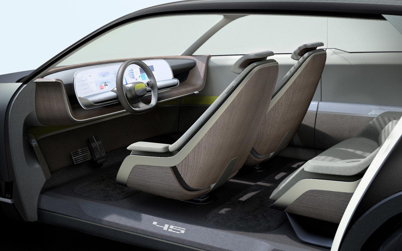 Hyundai 45 EV Concept seats