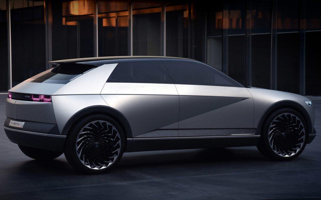 Hyundai 45 EV Concept side view