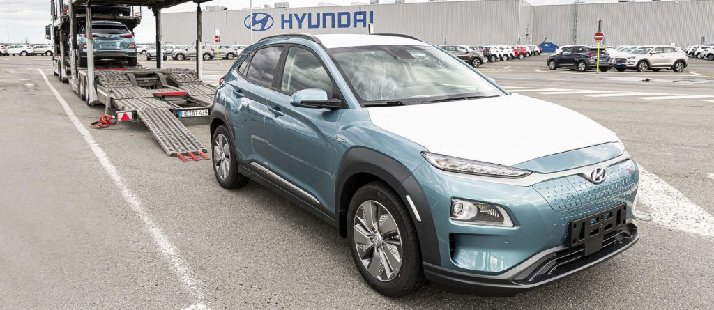 Hyundai Kona Czech Republic electric car production deliveries