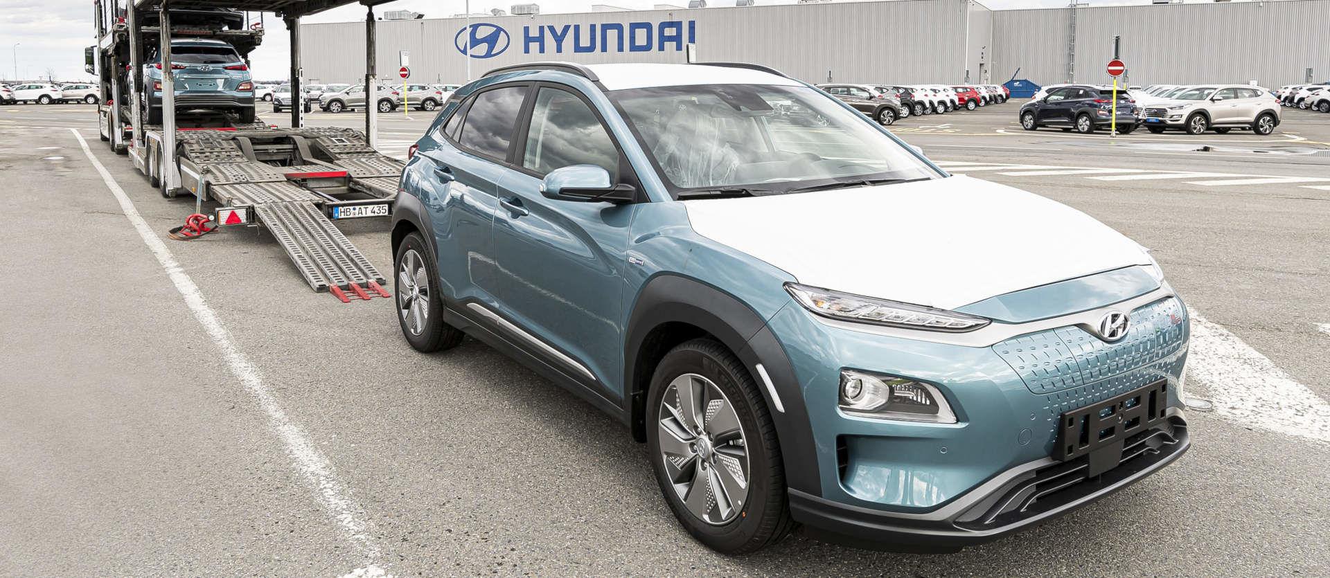 Hyundai Kona Czech Republic electric car production deliveries