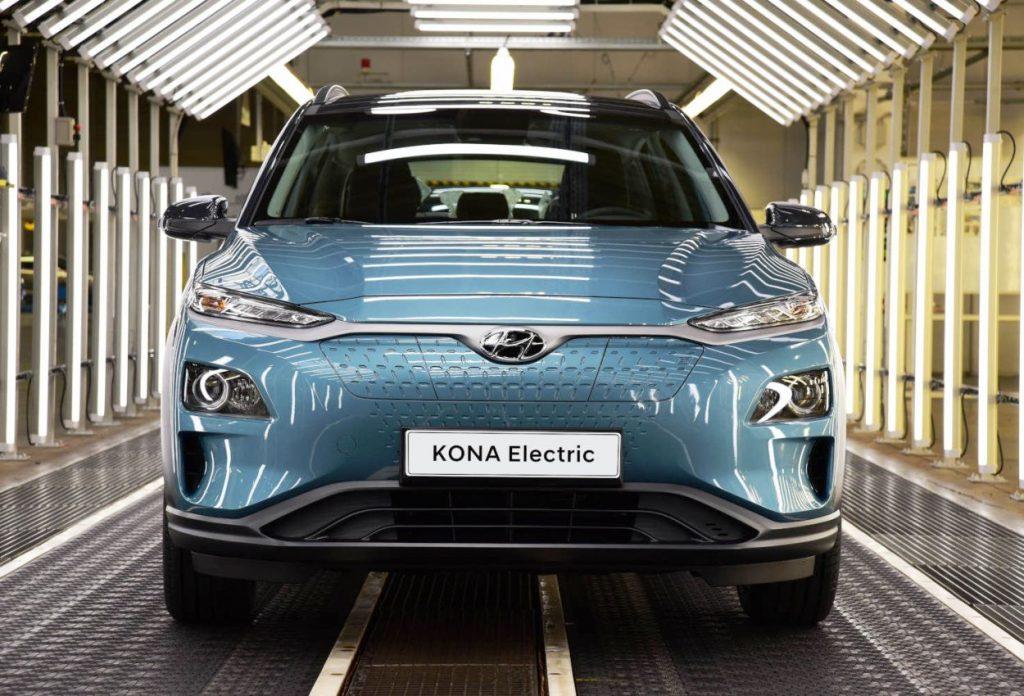 Hyundai Kona Electric production line