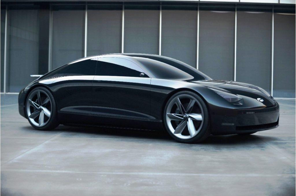Hyundai Prophecy unveiled - front three quarter view