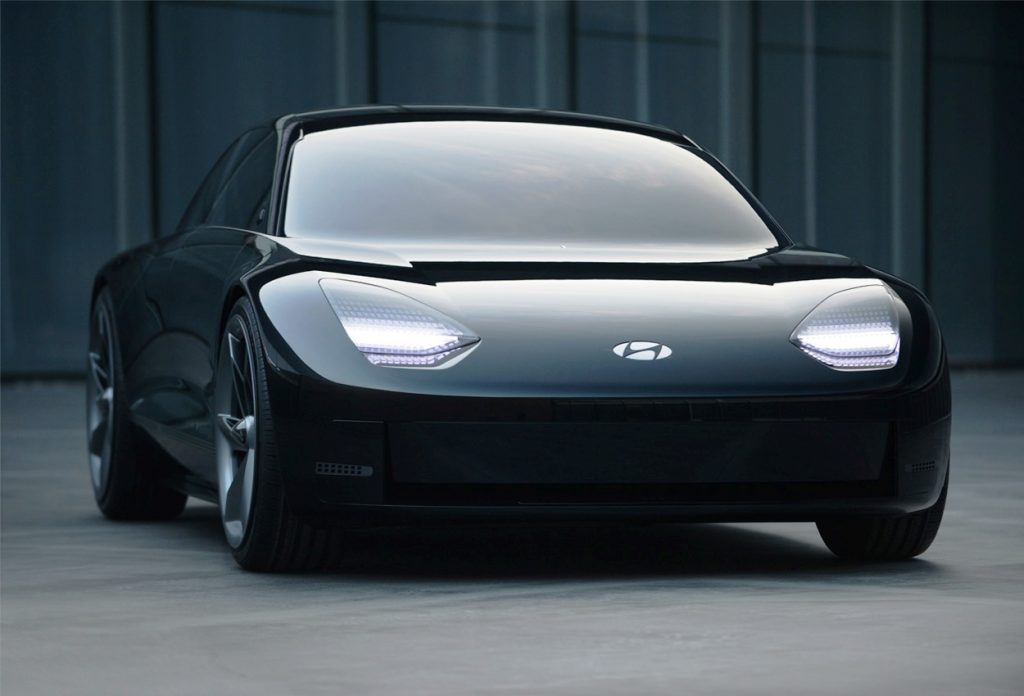 Hyundai Prophecy unveiled - front view
