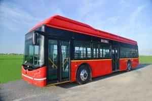 JBM ECOLIFE e12 electric bus