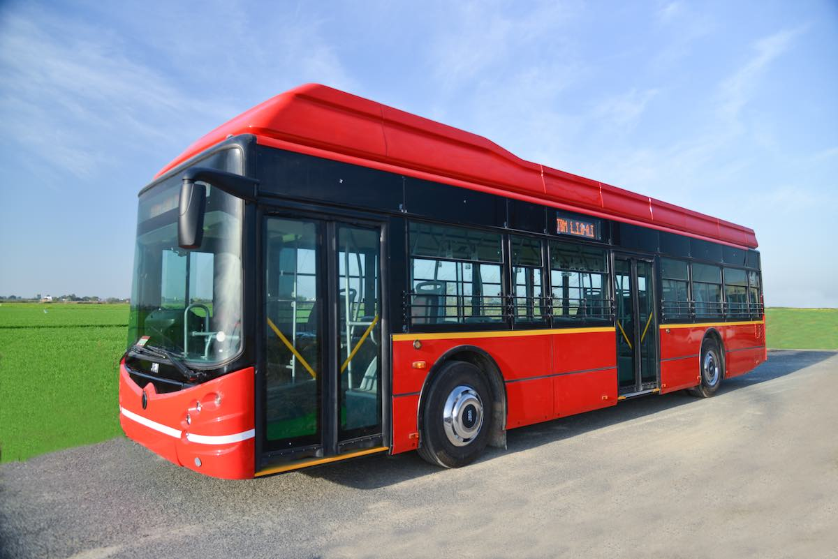 JBM ECOLIFE e12 electric bus