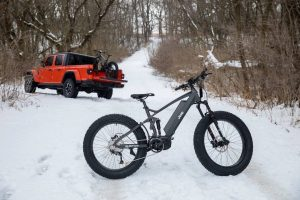Jeep E-Bike with Jeep Gladiator