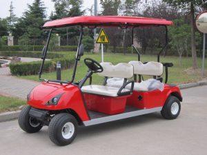 Kinetic Green electric golf cart