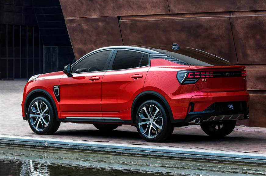 Lynk & Co 05 coupe crossover CMA platform