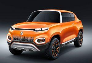 Maruti Suzuki Future S Concept front three quarter view
