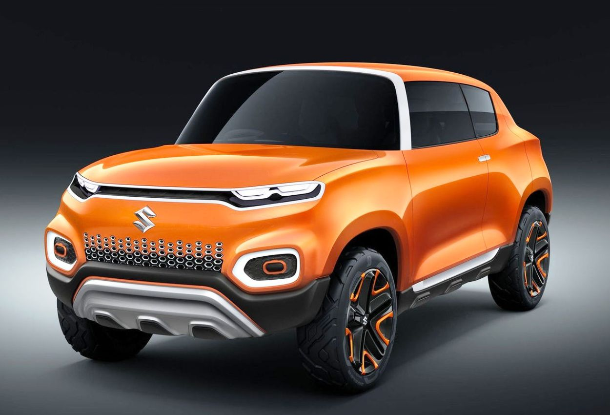 Maruti Suzuki Future S Concept front three quarter view