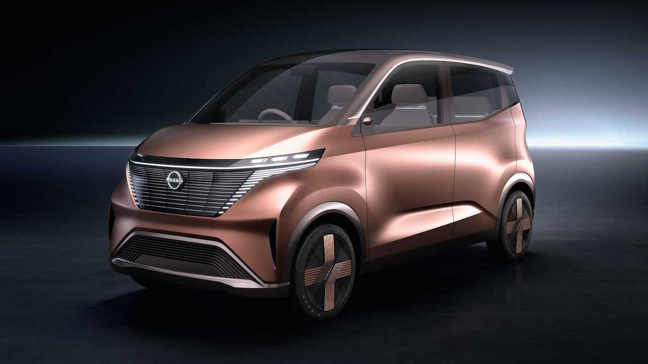 Nissan iMK concept side profile