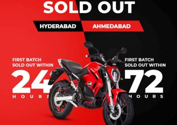 Revolt bikes sold out in Chennai, Ahmedabad & Hyderabad [Update]