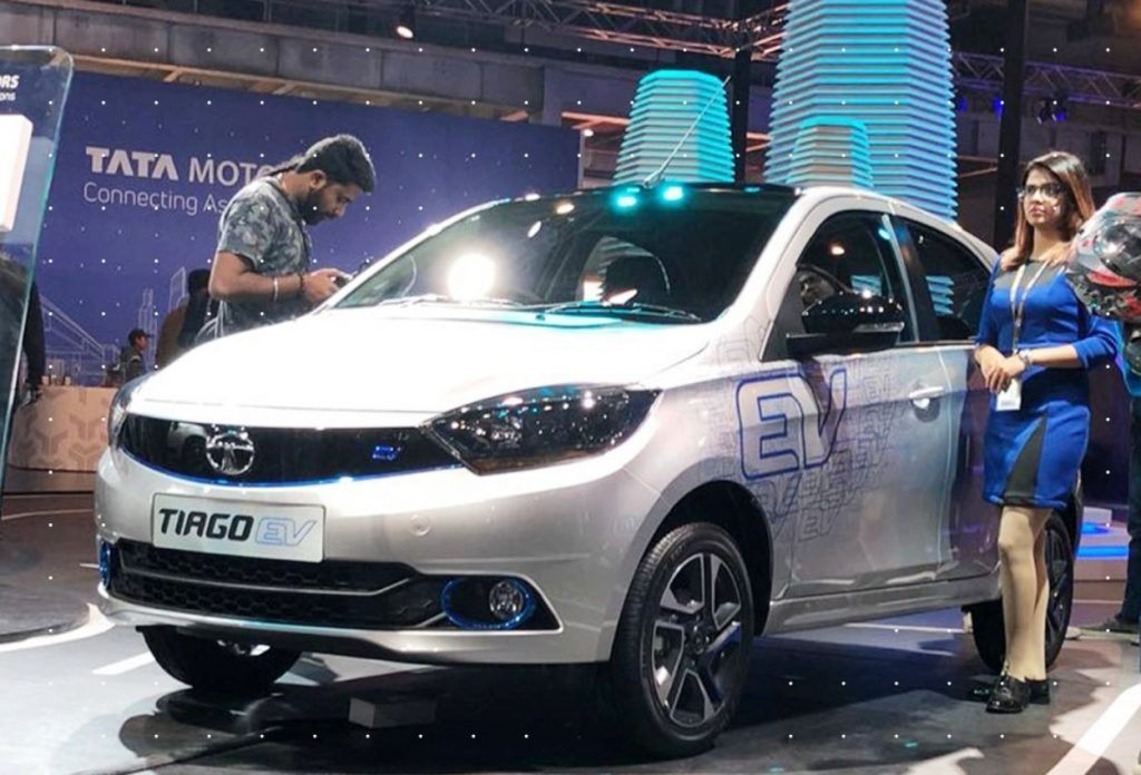 Tata Tiago electric car