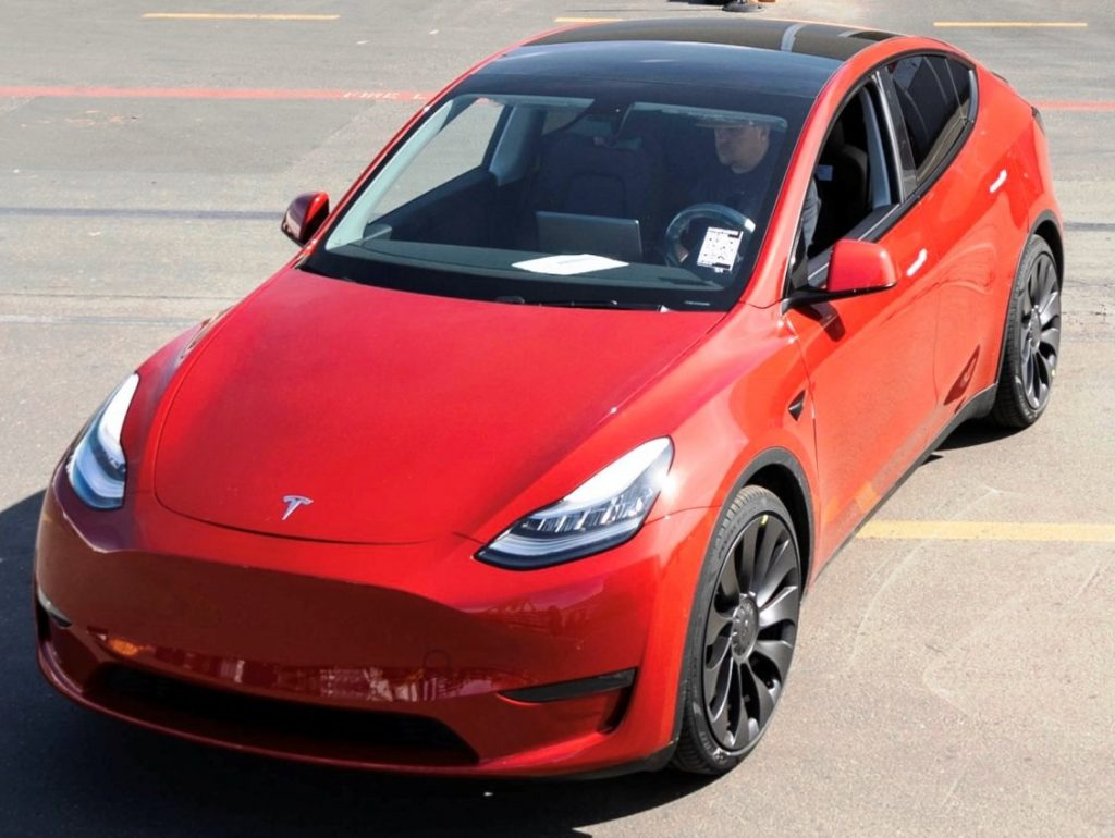 Tesla Model Y One millionth car