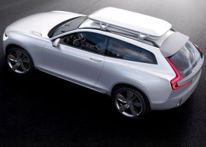 Volvo XC Coupe Concept top view