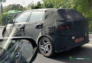 new 2020 Hyundai i20 rear spied testing