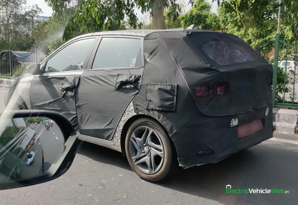 new Hyundai i20 spied testing