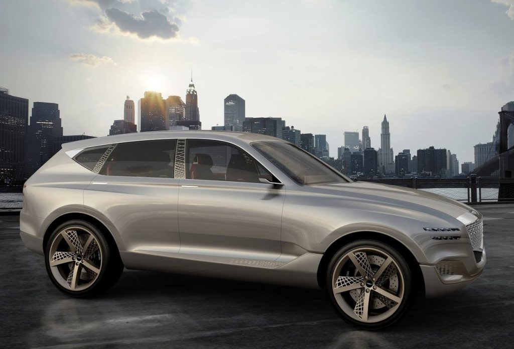 2017 Genesis GV80 Concept side view