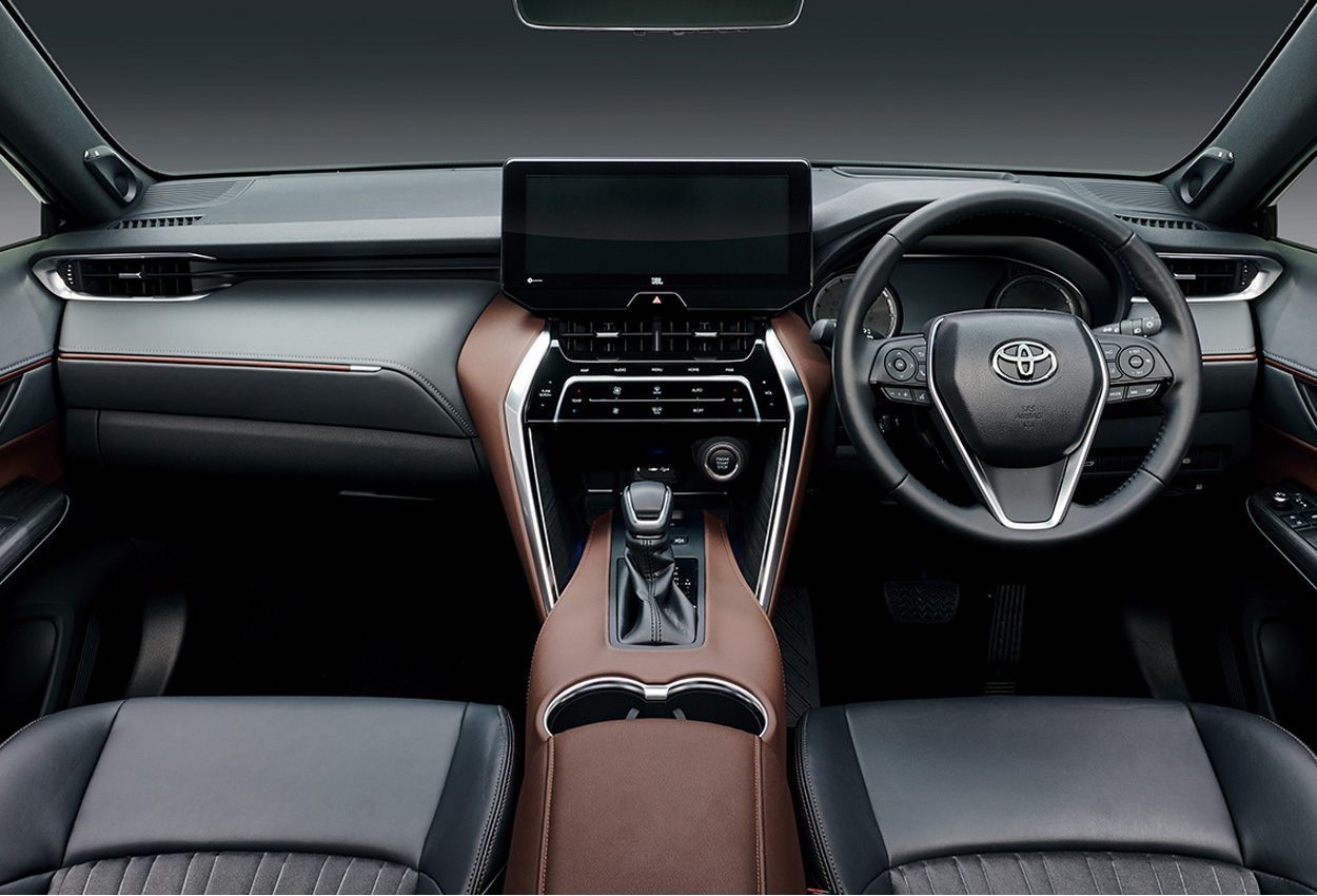 2020 Toyota Harrier dashboard
