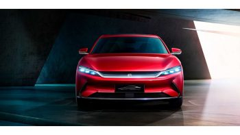 BYD is breaking into Europe with its techy 'Han' electric sedan