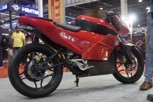 Emotion Surge electric bike at Auto Expo