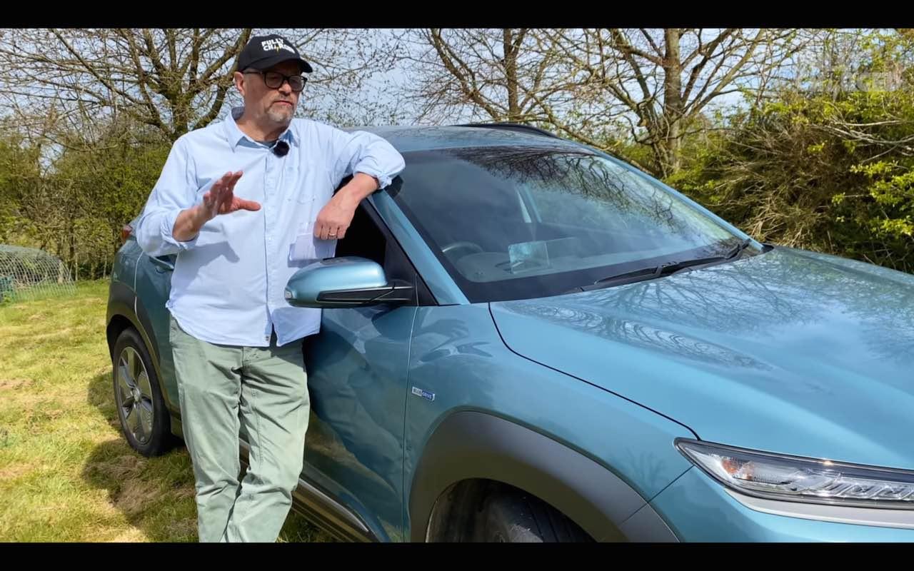 Hyundai Kona EV 32000 km driver maintenance cost