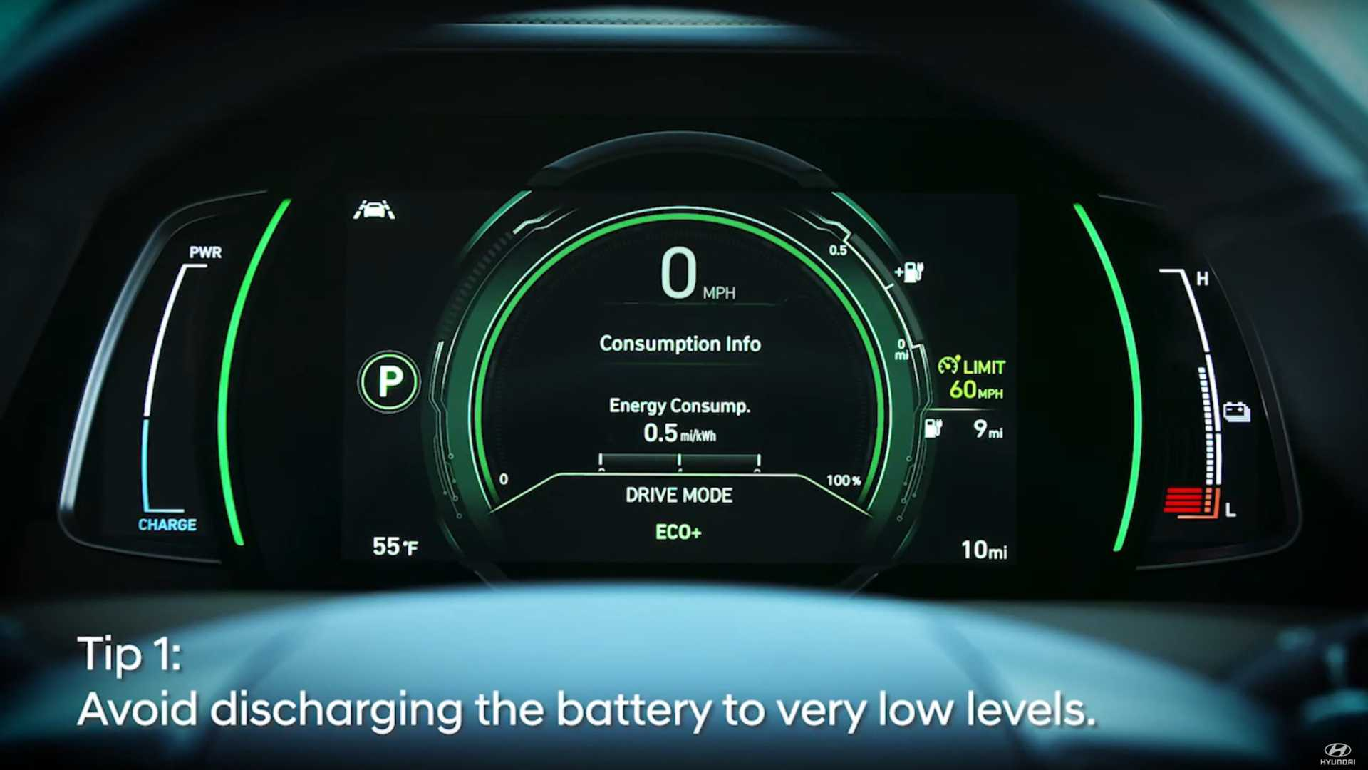 Hyundai tips how to maximize electric car range